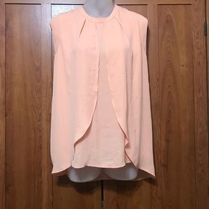"""THE LIMITED"" PEACH SLEEVELESS TOP"
